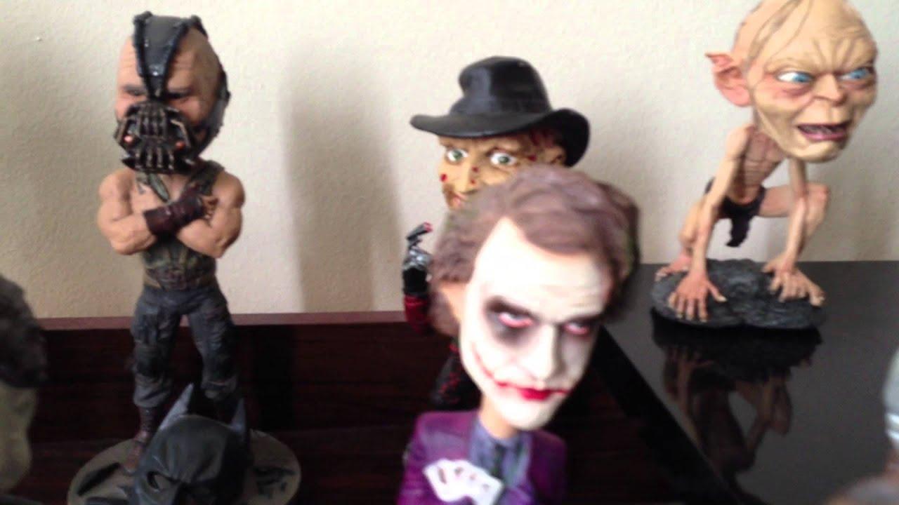 headknocker collection neca ii horror movies villains