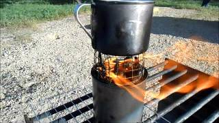 Tom's Diy Wood Gasifier Stove