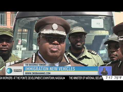 IMMIGRATION DEPT. NEW VEHICLES