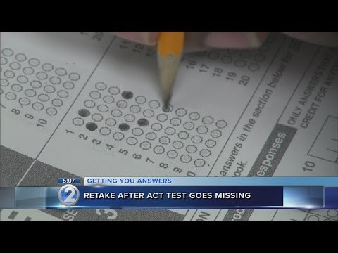 Students retake ACT after booklet reportedly goes missing