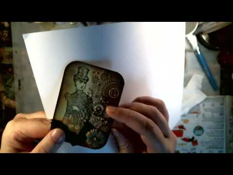 Live - Making Art Cards and Round ATCs