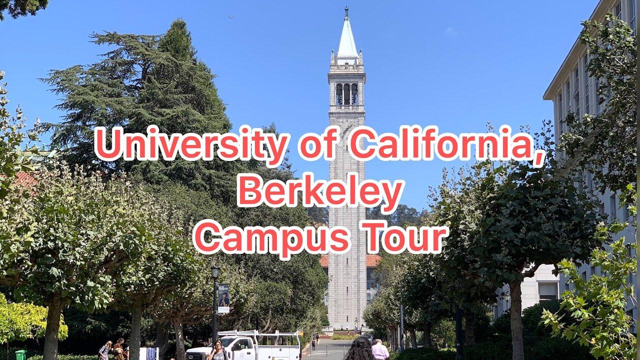 University of California, Berkeley (UC Berkeley) Campus Tour by Driving Around
