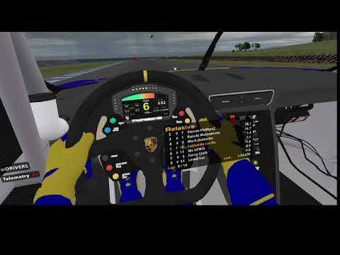 iRacing VR Porsche 911 Phillip Island