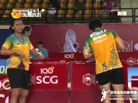 2013 SCG Thailand Open XDSF Riky/Dili vs Kamura/Yonemoto