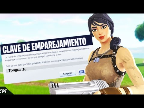 PARTIDAS PRIVADAS  #FORTNITE #CHILE #SCRIM #ESCONDITE #SIMON DICE