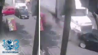 Difunden Video Del Tráiler Que Impactó Varios Autos En Santa Fe