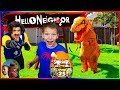 Hello Neighbor Took Our Epic Dino Eggs and Smashers 3!