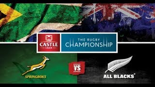 Rugby 08 GamePlay: springboks v allblacks (2018 Mod)