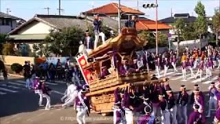 南堺連合パレード https://youtu.be/jD0kWwMtH8E 1本入れ忘れ Danjiri M...