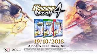 Warriors Orochi 4 - Tráiler del anuncio.