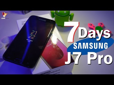 Samsung Galaxy J7 Pro Full Indepth Review After 7 Days Of Use | Data Dock
