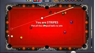 8ball Miniclip pool: Tokyo warrior hall (5k coins bet)
