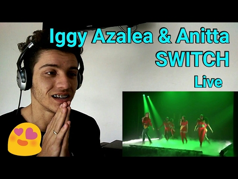 Iggy Azalea & Anitta - Switch (Live At The Tonight Show Starring Jimmy Fallon) | Reaction