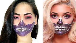 Halloween Makeup inspired by James Charles and Kylie Jenner