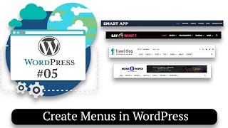 How to Create Menus in WordPress | How to Make a Website #05
