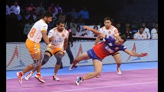 Pro Kabaddi 2018 Highlights | Puneri Paltan Vs  Dabang Delhi | Hindi