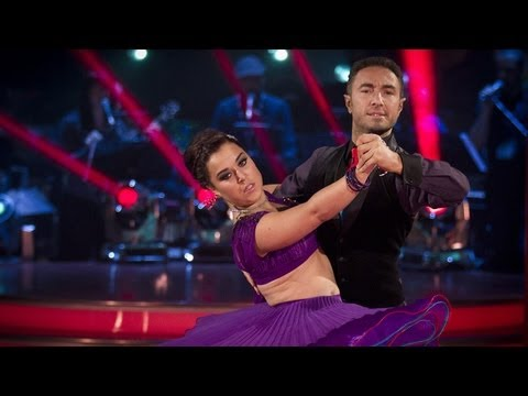 Dani Harmer & Vincent Simone Tango to 'Rumour Has It'  Strictly Come Dancing 2012  BBC One