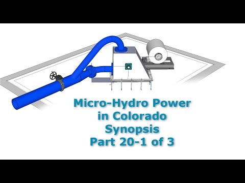 Micro Hydro Power System in CO Part 20-1