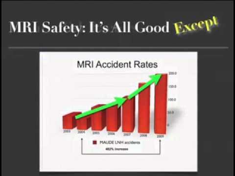 Présentation sur l'augmentation des accidents en IRM - MRI Safety presentation