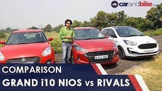 Comparison Review: Hyundai Grand i10 Nios vs Rivals | NDTV carandbike
