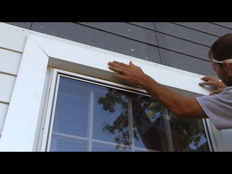 How To Trim Out A Window With Fiber Cement Siding And Insulation Youtube