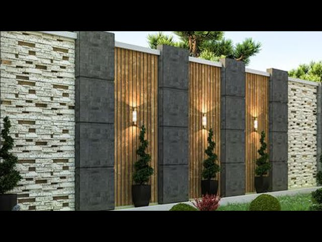 outer boundary wall design ideas year