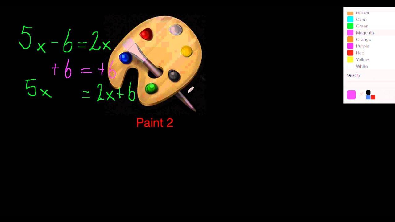 Ligninger metode 1