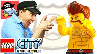 🚓 LEGO CITY UNDERCOVER #7 БЕШЕНЫЙ РЕКС Жестянка ЛЕГО СИТИ Андерковер