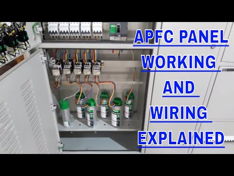 APFC Panel Wiring Explained in detail | How to do Wiring of Auto Power Factor Correction Panel