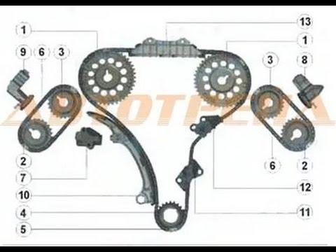 Двигатель ниссан жук 1 6 цепь или ремень