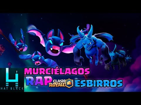 Rap Murciélagos (Clash Royale) Vs Esbirros (Clash Of Clans)  Hat Black Game