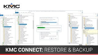KMC Connect: Restore and Backup