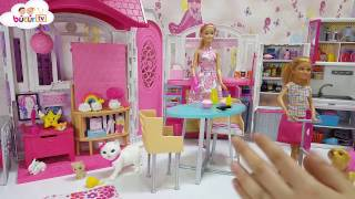 Barbie'nin Minik Mutfak Eşyaları