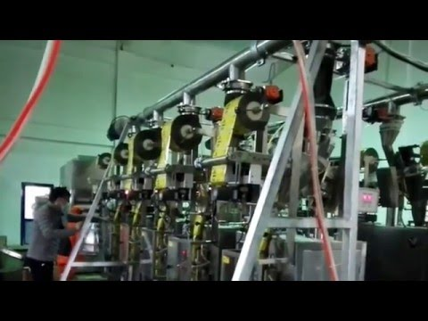 Two automatic food industrial powder packaging machine