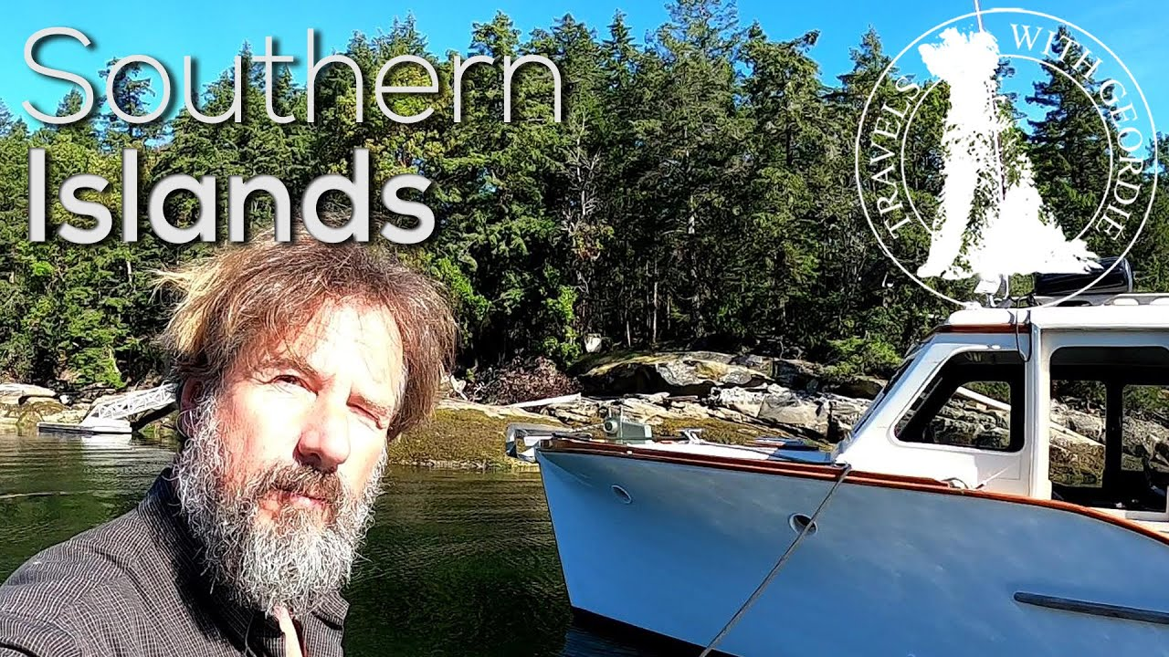 The Southern Islands - Boat Life - Living aboard a wooden boat - Travels With Geordie #181