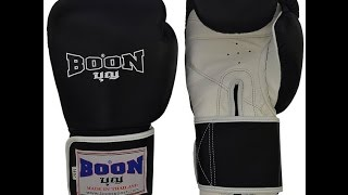 Boon Gloves Review Similar Twins Boxing Gloves ?