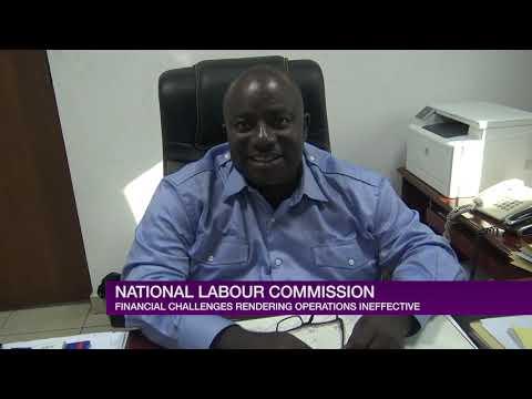 NATIONAL LABOUR COMMISSION CASH TRAPPED