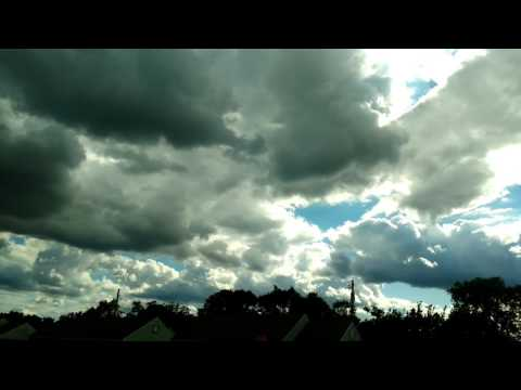 Black objects in clouds!! Must see!!