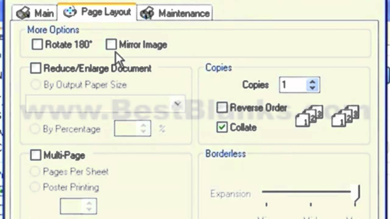 What Printer Settings To Use For Best Results For InkJet Transfer Printing