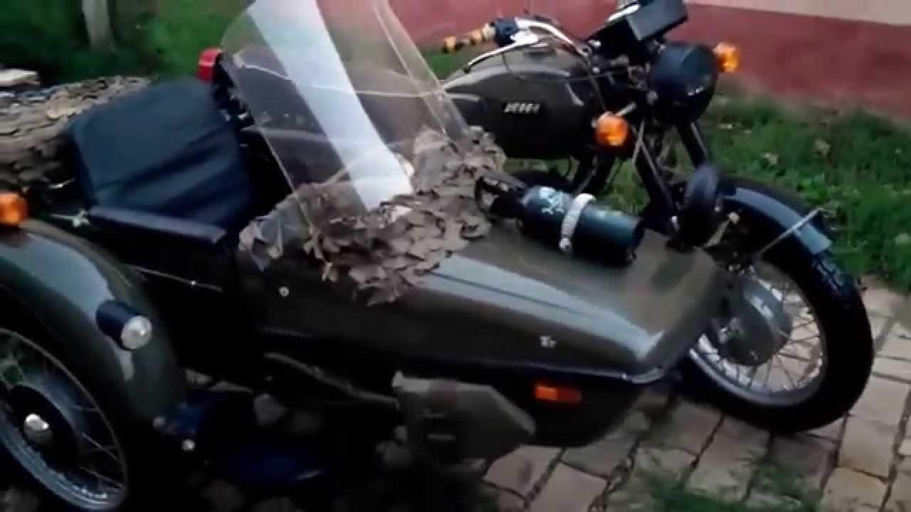 Restoration motorcycle IZH Jupiter-5 1