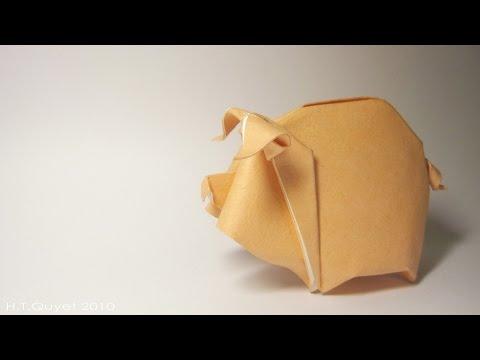 Origami Piggy-Hoàng Tiến Quyết