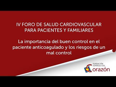 La importancia del buen control en el pacientes anticoagulado y los riesgos de un mal control