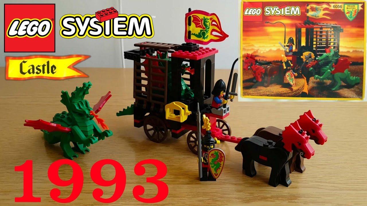 LEGO Castle: 6056 Dragon Wagon 1993 Review