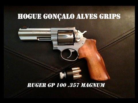 Gonçalo Alves Grips for the Ruger GP 100
