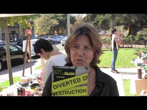 Ojai Art Festival Diverted Destruction 6 Assemblage Artists Workshop
