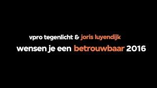 VPRO Tegenlicht & Joris Luyendijk