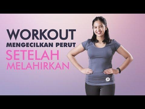 Cara Mengecilkan Perut Setelah Melahirkan Postpartum Workout Youtube