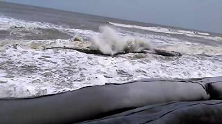 Horrible waves of Bay of Bengal