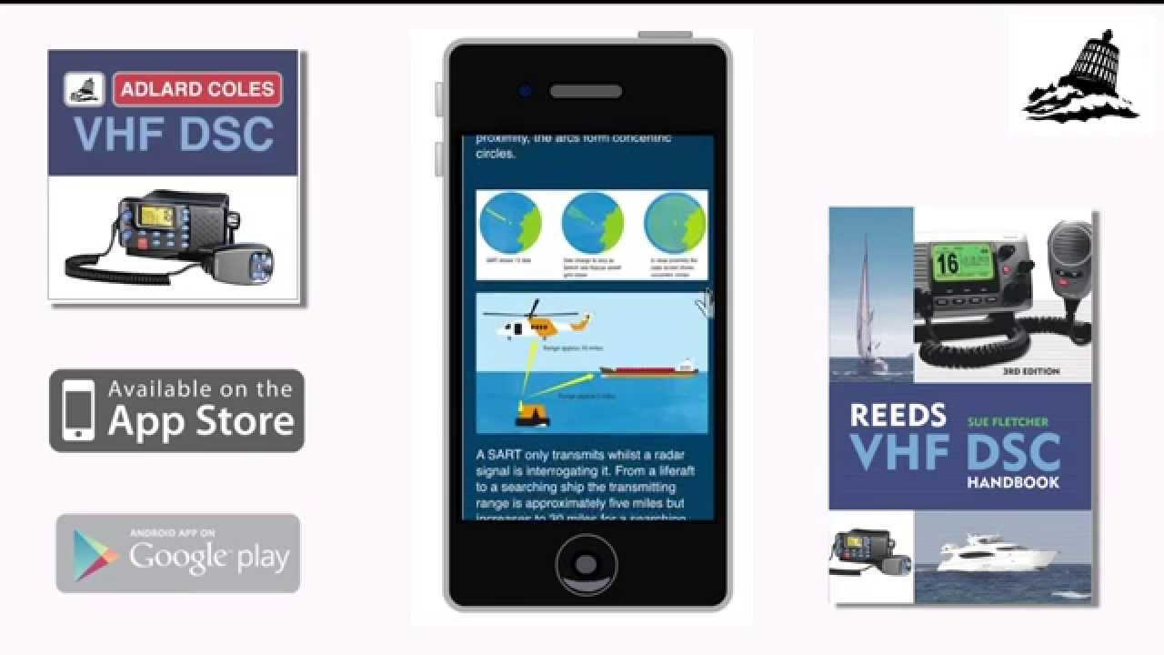 Reeds Vhf Dsc Handbook App Adlard Coles Nautical