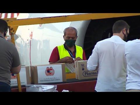 Армения отправила 12 тонн медикаментов в Бейрут